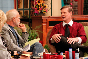 Pastor Jim Bakker with Dr. Gordon Pedersen