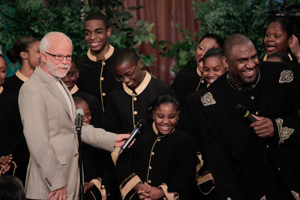 Pastor Jim Bakker and The Gloryland Pastor's Choir