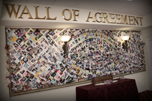 Jim Bakker Show Wall of Agreement
