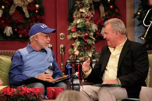 Pastor Jim Bakker with Carl Palmer Show 1942