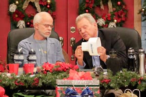 Pastor Jim Bakker with Carl Palmer Show 1945