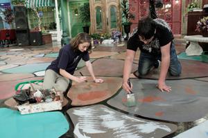 Master's Media Floor Painting