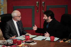 Jim Bakker and Rabbi Jonathan Cahn