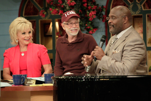 Jim Bakker Lori Bakker and Marvin Winans