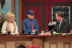 Lori Bakker, Pastor Jim Bakker, and John Shorey
