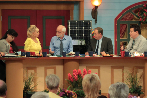 Tammy Sue Bakker, Lori Bakker, Pastor Jim Bakker, John Shorey and Kevin Shorey