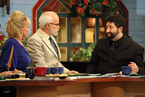 Lori Bakker, Pastor Jim Bakker and Rabbi Jonathan Cahn
