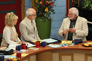 Lori Bakker, Pastor Jim Bakker, and Rick Joyner