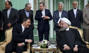 Iran and Italy Leaders